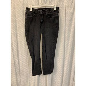 Cropped Grey Jeans